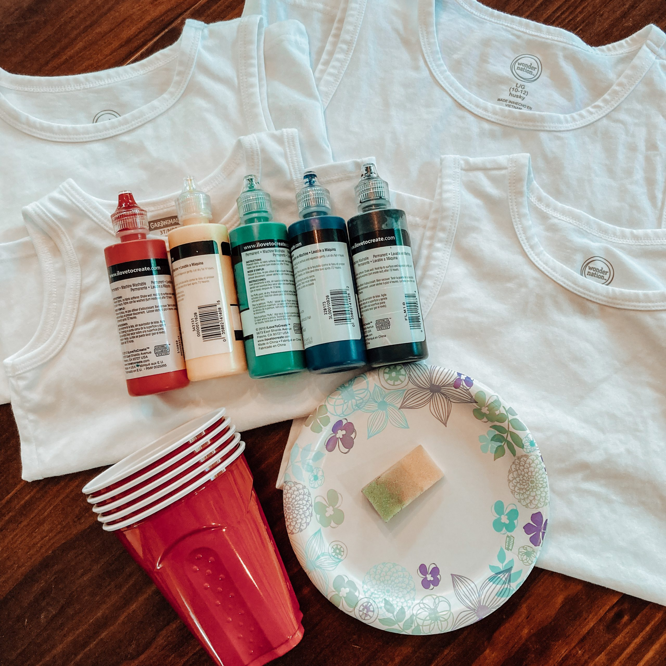 Make your own family Olympic shirts