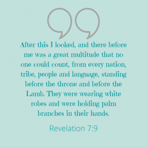 Revelations 7:9